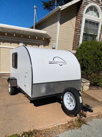 Photo 2011 5x8 Teardrop Trailer - $5,500 (New Monterey)