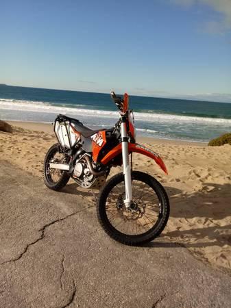 Photo 2011 KTM 450 exc - $8 (Monterey CA)