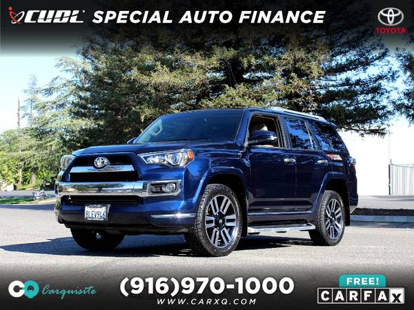 Photo 2015 Toyota 4Runner 4x4 3rd Row SUV Leather NICE - $29888 (Toyota 4Runner 4 Runner 4-Runner 2015 Car SUV Tr)