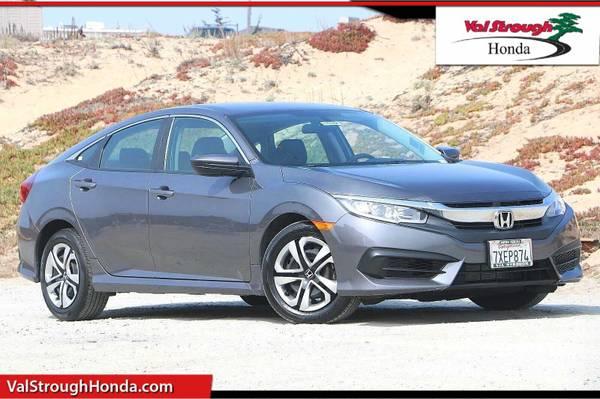 Photo 2017 Honda Civic Sedan Gray WON39T LAST - $17,981 (Seaside)