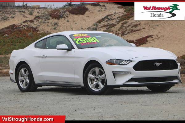 Photo 2019 Ford Mustang White For Sale..Great DEAL - $23,488 (Seaside)