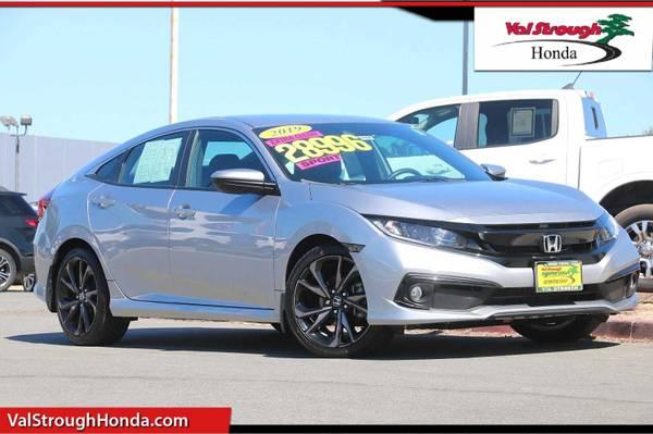 Photo 2019 Honda Civic Sedan Gray BIG SAVINGS..LOW PRICE - $22,988 (Seaside)