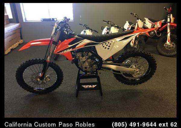 Photo 2021 KTM 250 SX-F MX - $9,299 (Paso Robles, Ca)