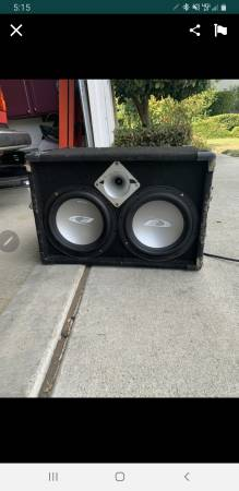 Photo 2 10quot alpine subs - $120 (watsonville)