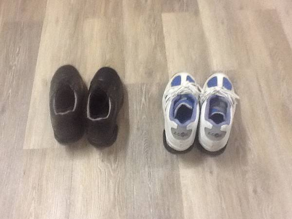 Photo 2 Pair Z Coil shoes - $100 (Pacific Grove)
