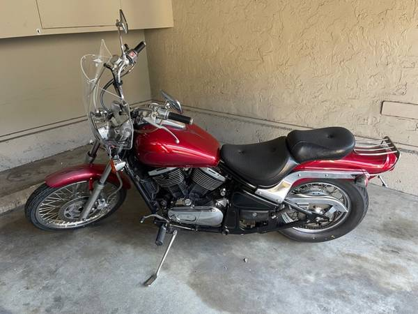 Photo 95 Kawasaki Vulcan 800 - $2,500 (santa clara)