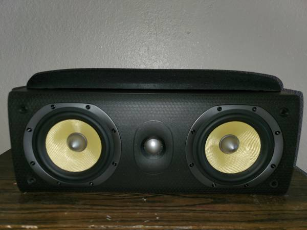 Photo BW Bowers and Wilkins LCR60 S3 Center Speaker - $225 (salinas)
