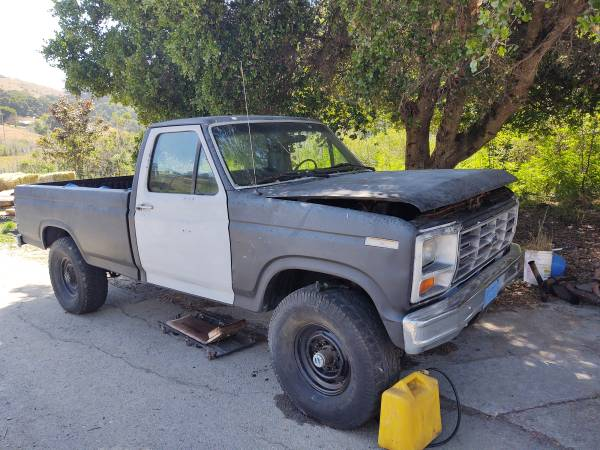 Photo Price reduced Ford diesel 1984 f250 - $500 (Aromas)