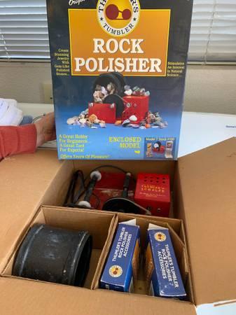 Photo Rock Tumbler Kit - $30 (Seaside)