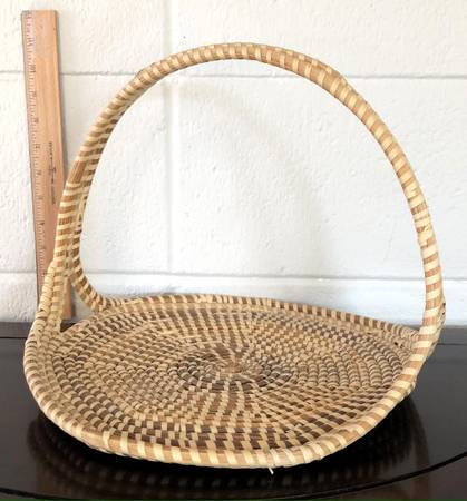 Photo Sea grass garden basket by South Carolina Gullah artisan - $12 (Monterey)