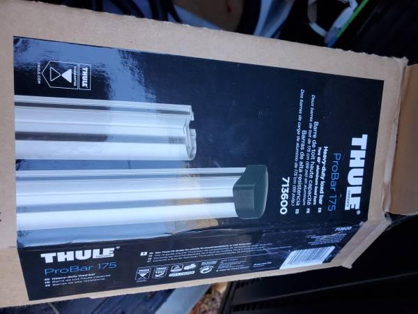 Photo Thule 175 pro bar car load bars with parts - $300 (Santa Cruz)