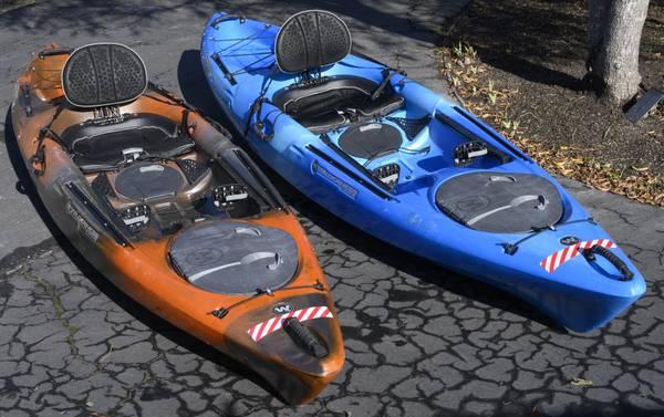 Photo Two -- Wilderness Systems Tarpon 120 Kayaks - $1000 (Pebble Beach, CA)