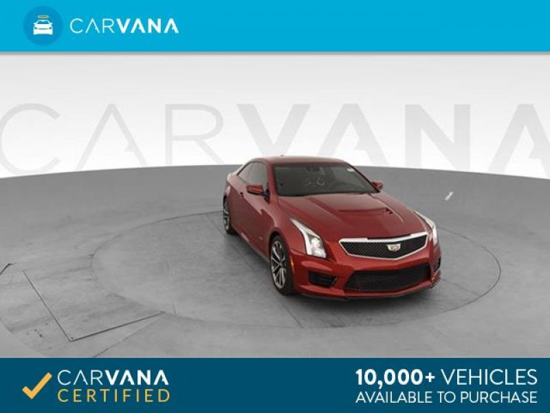 Photo Used 2016 Cadillac ATS V Coupe w Luxury Package for sale