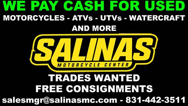 Photo We Buy Used Bikes - ATVs - UTVs - WATERCRAFT AND MORE  (93906)