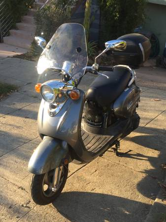 Photo Yamaha Vino 125 CC Motor Scooter - $1,450 (berkeley)