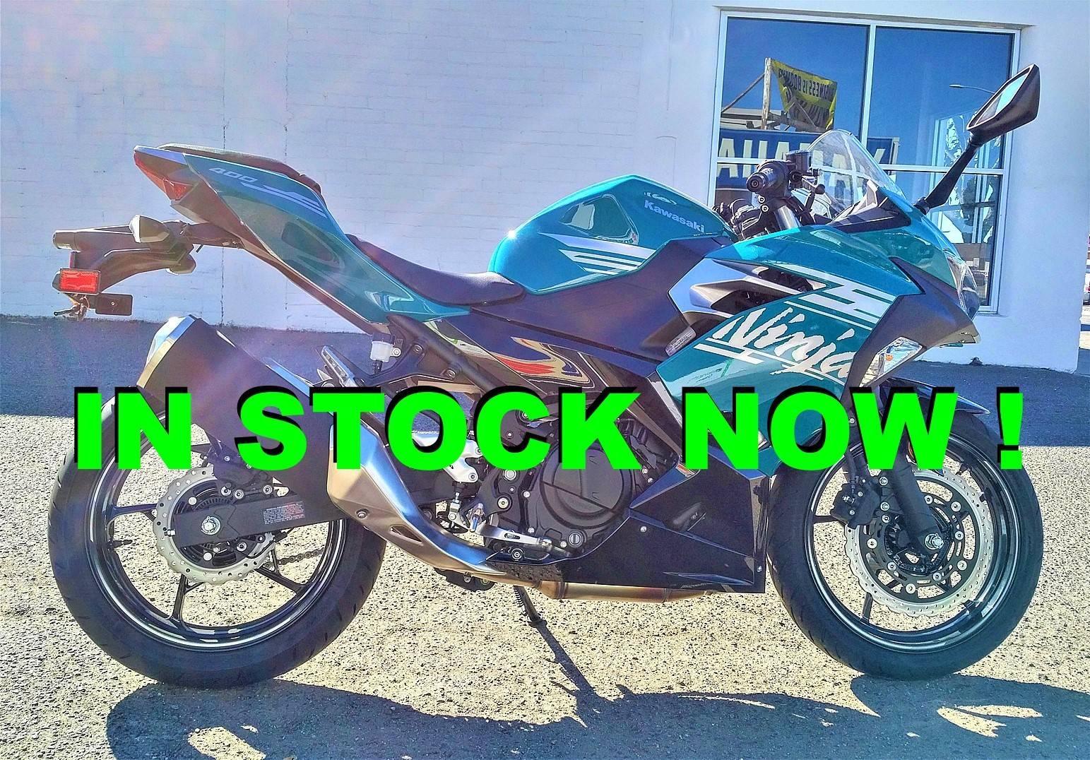 Photo 2021 Kawasaki Ninja 400 ABS $5599