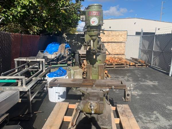 Photo milling machine, bridgeport clone - $2,900 (watsonville)