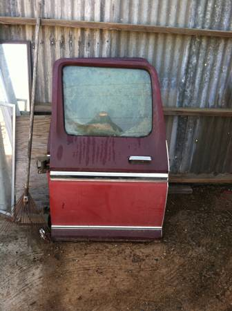 Photo 1973-79 Ford Crew Cab rear doors - $700 (Prattville)