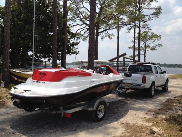 Photo 2011 Sea-Doo BRP SPEEDSTER with trailer and optional Nissan Frontier - $15,000 (Fort Walton Beach)
