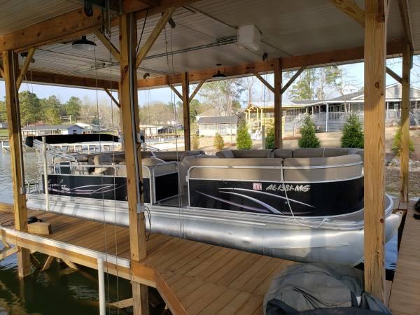Photo 2011 Tritoon 150 Mercury 4 stroke. - $24500 (Lake Martin, AL)