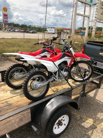 Photo (2) Honda Crf 125s and 1Honda xr80 - $4000 (Prattville)
