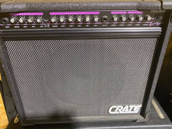 Photo CRATE STEALTH-50 AMP - $285 (Wetumpka)