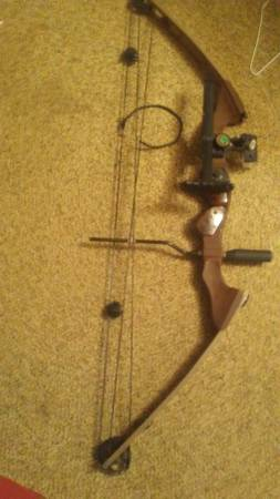 Photo Clear water archery bow easton arrows - $150 (Black)
