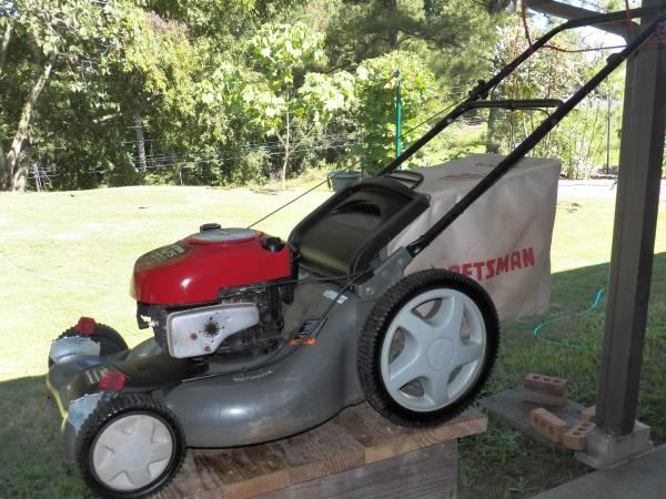 Photo Craftsman High-Wheel Self-Propelled 21-inch Lawn Mower - $275 (Prattville)