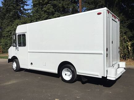Photo Food Truck System exhaust system uses cold plate refrigeration. - $4000