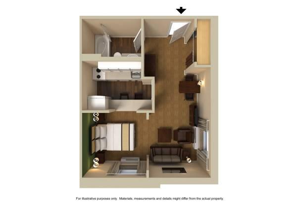 Photo Great Studio Apt. Amazing Amentities Low Cost (Montogmery)