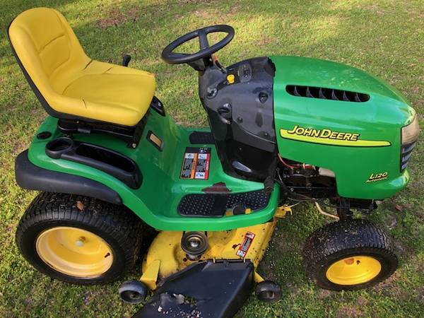 Photo John Deere L120 used lawn mower - $200 (Wetumpka)