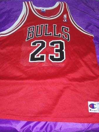 Photo Michael Jordan 23 Chicago Bulls Jersey - $85 (Dothan)