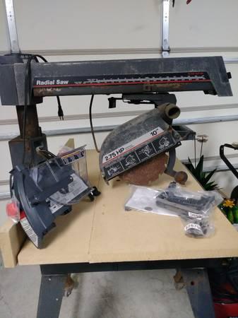 Photo Sears Craftsman Radial Arm Saw - $150 (Bessemer)
