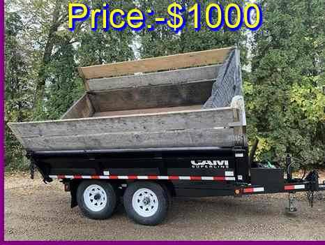 Photo Selling For using $1000 3 Way dump Trailer Good looking - $1,000 (dothan, AL gt)