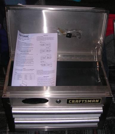Photo 18quot Stainless 2 drawer Craftsman - $100 (Bridgeport)