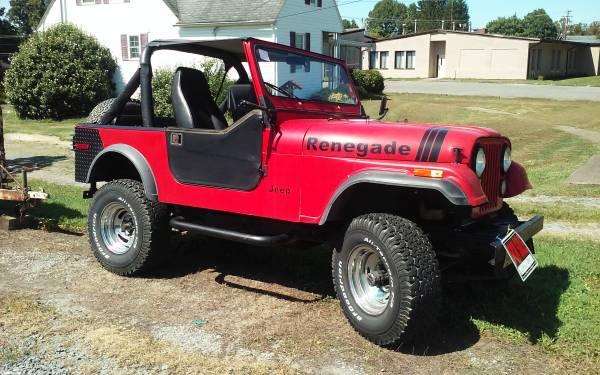 Photo 1980 Jeep CJ7 - $5000 (FAIRMONT)