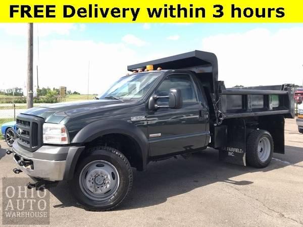 Photo 2007 Ford Super Duty F-550 DRW XL 4x4 Dump Bed PowerStroke Diesel We F - $22000 (Easy Financing - (330) 752-4461)