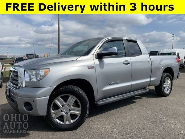 Photo 2008 Toyota Tundra Limited 4x4 Double Cab V8 Clean Carfax We Finance - $16000 (Easy Financing - (330) 752-4461)