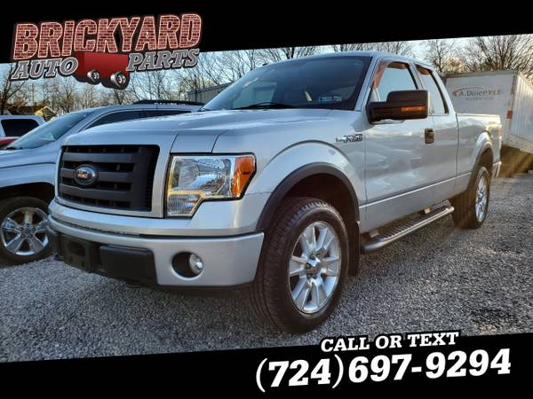 Photo 2009 Ford F-150 4WD SuperCab Styleside 6-12 Ft Box FX4 - $6,999 (Darington)