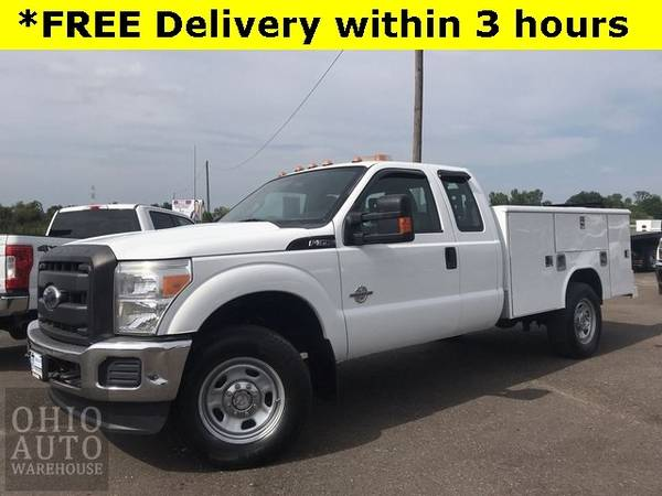 Photo 2011 Ford Super Duty F-350 SRW Chassis Cab XLT 4x4 Service Utility Bed - $24,000 (Easy Financing - (330) 752-4461)