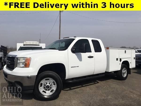 Photo 2011 GMC Sierra 2500HD Work Truck Service Utility V8 1-Own Cln Carfax - $20,900 (_GMC_ _Sierra 2500HD_ _Truck_)