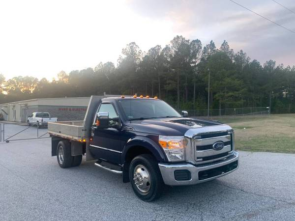Photo 2012 Ford F-350 Super Duty Dually Flatbed - $17500 (Greenwood SC)
