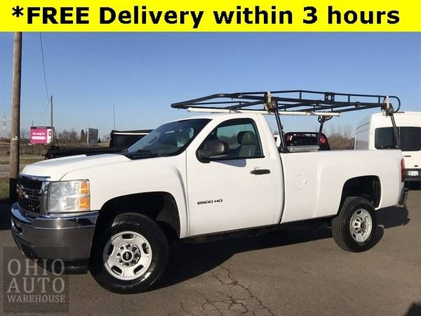 Photo 2014 Chevrolet Silverado 2500HD Work Truck V8 34 Ton 1-Own Cln Carfax - $15,500 (Easy Financing - (330) 752-4461)