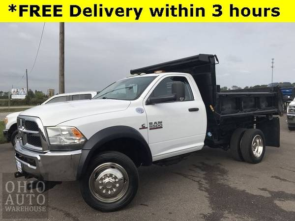 Photo 2014 Ram 5500 Tradesman 9 FT Dump Bed Cummins DIESEL We Finance - $36,995 (Easy Financing - (330) 752-4461)