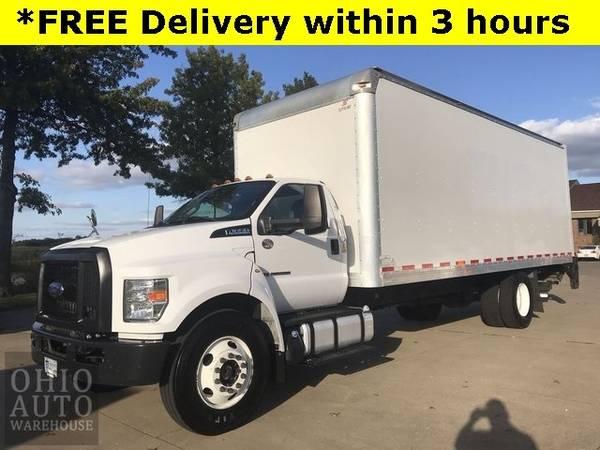 Photo 2017 Ford F-650SD Box Truck Powerstroke Diesel Cln Carfax We Finance - $48,000 (Easy Financing - (330) 752-4461)