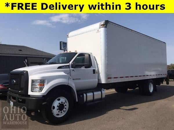 Photo 2017 Ford F-650SD Box Truck Powerstroke Diesel Cln Carfax We Finance - $48,000 (_Ford_ _F-650SD_ _Truck_)