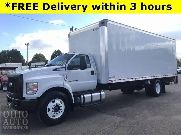 Photo 2018 Ford F-650SD Box Truck Powerstroke Diesel Cln Carfax We Finance - $55,000 (Easy Financing - (330) 752-4461)