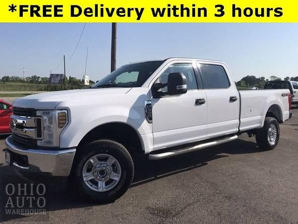 Photo 2018 Ford Super Duty F-350 SRW XLT 4x4 Crew Cab Long Bed Cln Carfax We - $37995 (Easy Financing - (330) 752-4461)