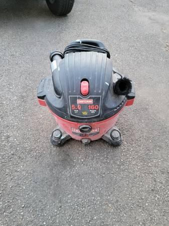Photo 3 Craftsman Shop Vacuums 16 gallon 12 gallon wet dry - $50 (Cheswick, pa)