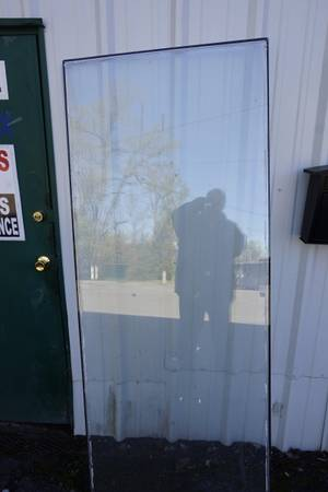 Photo Bullet Proof Glass, Sheet, 72quot x 32quot, used,heavy - $125 (Westover)